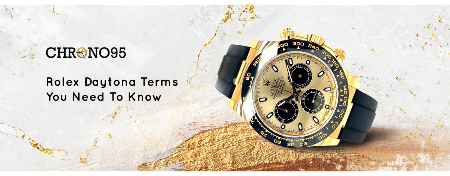 5 Rolex Daytona Terms You Need to Know: From Big Red to Floating Dial Panda